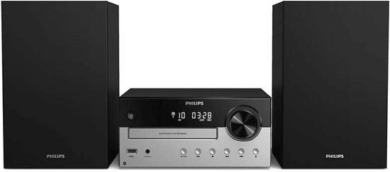 Philips TAM4205 glasbeni stolp, črno-srebrn