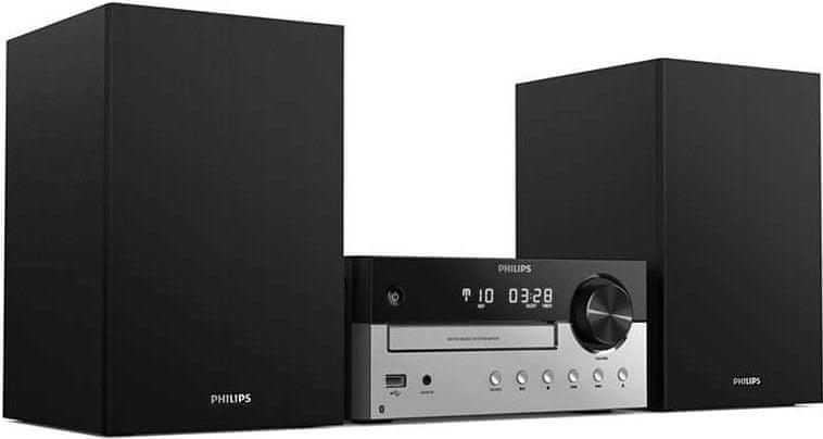Philips TAM4205/12, černá/stříbrná