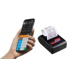 EET řešení mobilní tiskárny CASHINO PTP-II s aplikací Profi Účtenka a 10 ks kotoučků