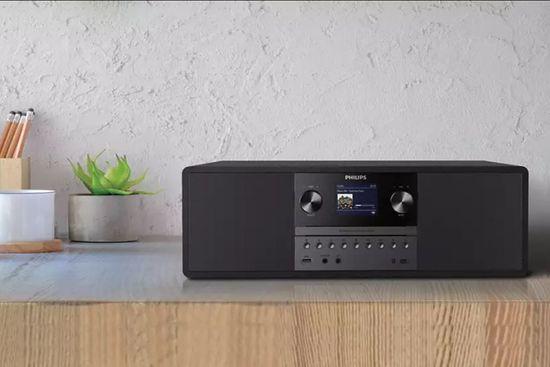 Philips TAM6805 glasbeni stolp, črn