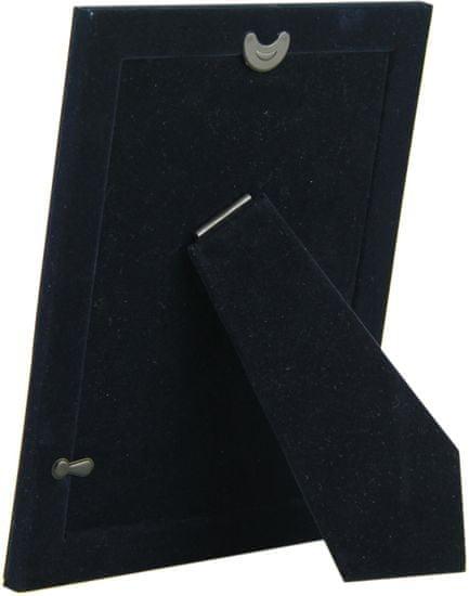 Karako Foto okvir 13x18 cm, kovina, namizni s tačko, 258