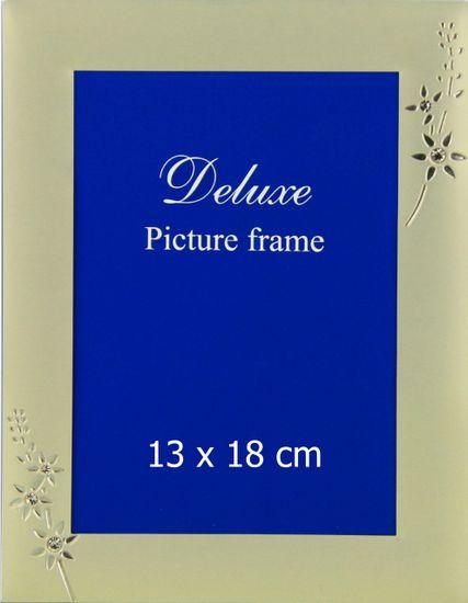 Karako Foto okvir 13x18 cm, kovina, namizni s tačko, 257