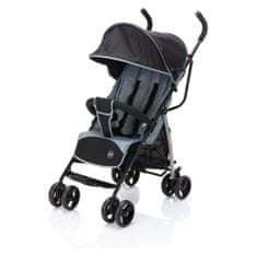 Fillikid Glider Plus A107-07 voziček, zložljiv, črn/siv