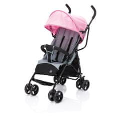 Fillikid Glider Plus A107-12 voziček, zložljiv, roza/siv