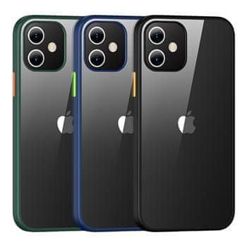 USAMS US-BH626 PC+TPU Kryt pro iPhone 12 Mini Janz Series 5.4 IP12JX01, černý