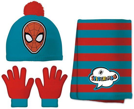 Disney Set kape, šala i rukavica za dječake Spider Man