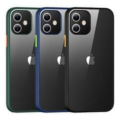 USAMS US-BH626 PC+TPU Kryt pro iPhone 12 Mini Janz Series 5.4 IP12JX02, zelený
