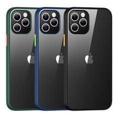 USAMS US-BH627 PC+TPU Kryt pro iPhone 12/12 Pro Janz Series 6.1 IP12PJX01, černý