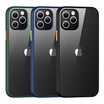 USAMS US-BH627 PC+TPU Kryt pro iPhone 12/12 Pro Janz Series 6.1 IP12PJX02, zelený