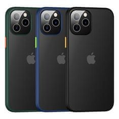 USAMS US-BH628 PC+TPU Kryt pro iPhone 12 Pro Max Janz Series 6.7 IP12PMJX01, černý