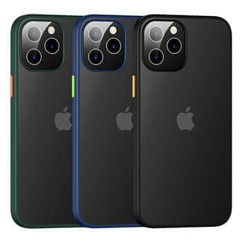 USAMS US-BH628 PC+TPU Kryt pro iPhone 12 Pro Max Janz Series 6.7 IP12PMJX03, modrý