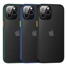 USAMS US-BH628 PC+TPU Kryt pro iPhone 12 Pro Max Janz Series 6.7 IP12PMJX02, zelený