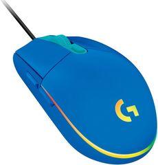 Logitech G102 LightSync gaming miška, modra