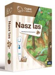 Albi Czytaj z Albikiem - Puzzle Nasz Las