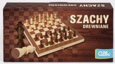 Albi szachy drewniane