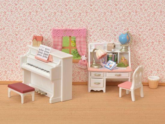 Sylvanian Families komplet klavirja in mize 5284
