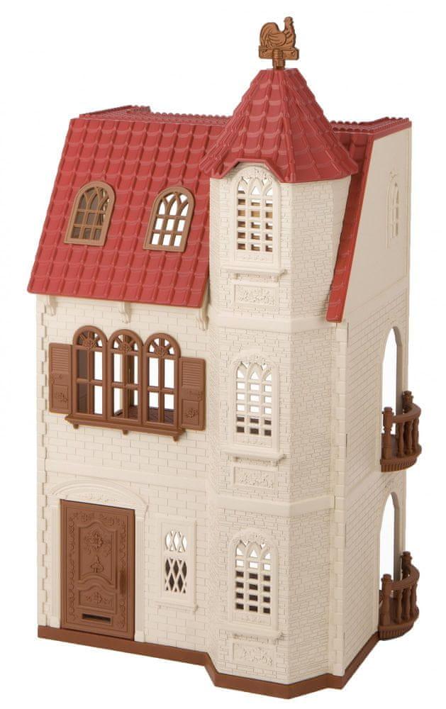 Sylvanian Families Dům s věží a červenou střechou 5400