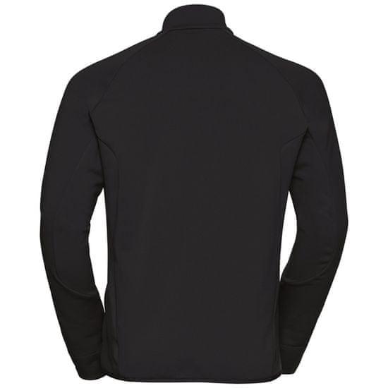 ODLO Carve CeramiWarm Full Zip moška jakna, črna (B:15000)
