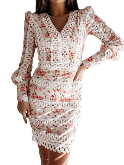 Milujtemodu Luxusní šaty - Mademoisele pink