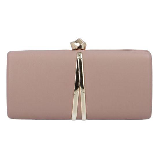 Michelle Moon Společenská dámská kabelka Elegant Paris, růžová