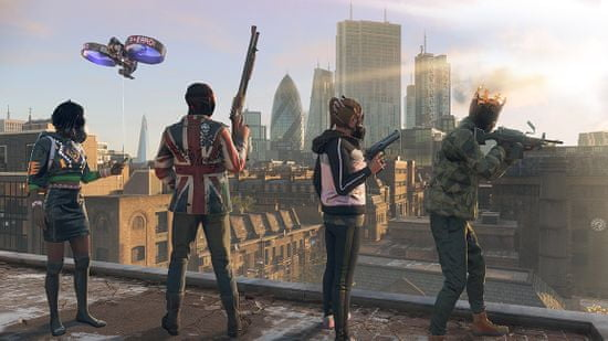 Watch Dogs: Legion - Ultimate Edition + Figurka Resistant of London (PS4)