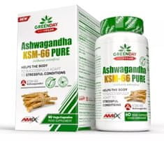 Amix Nutrition ProVegan Ashwagandha KMS-66 Pure 60kapslí