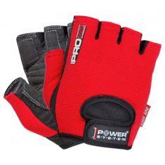 POWER SYSTEM Rukavice Pro Grip červené XL