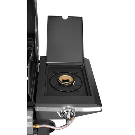 Activa Montana III - plynový gril s bočním vařičem