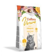 Calibra Sterilised suha hrana za mačke, piščanec in puran, brez žit, 750 g