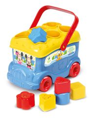 Clementoni pchacz Autobus Mickey