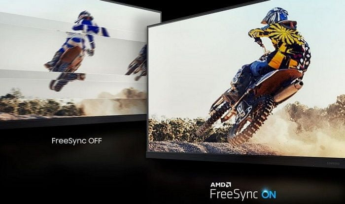 monitor Samsung T35F (LF24T350FHUXEN) synchronizace fps AMD FreeSync