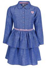 Happy Girls haljina za djevojčice, 128, plava