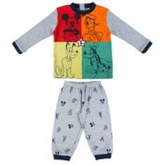 Disney Dětské pyžamo Mickey Mouse šedá 80
