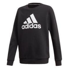 Adidas bluza chłopięca JB MH CREW, 104 czarna