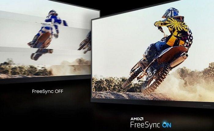 monitor Samsung T45F (LF24T450FQUXEN) synchronizace fps AMD FreeSync