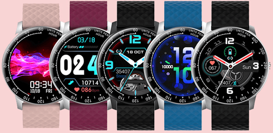 Wotchi W03BK Smartwatch - Black