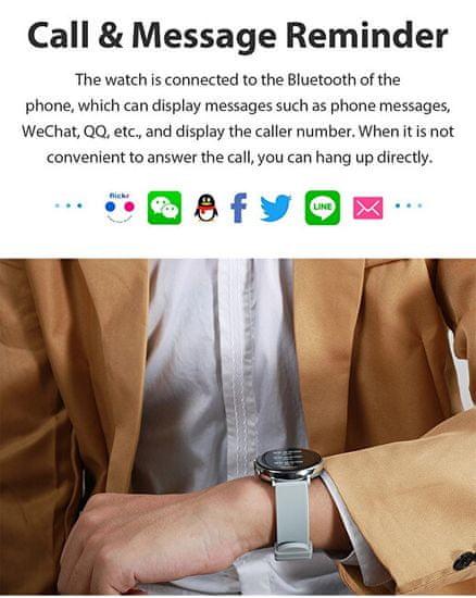 Wotchi Smartwatch W03P - Pink