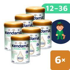 Kendamil batoľacie mlieko 3 (6x 900 g) DHA+