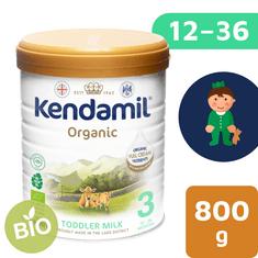 Kendamil batolecí BIO mléko 3 (800 g) DHA+