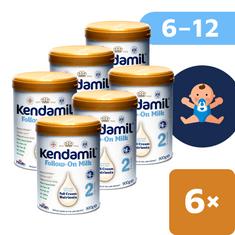 Kendamil pokračovací mléko 2 (6x 900 g) DHA+