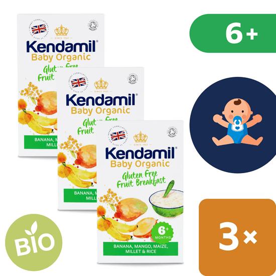 Kendamil Bezlepková bio organická ovocná kaša 6+ (150 g)