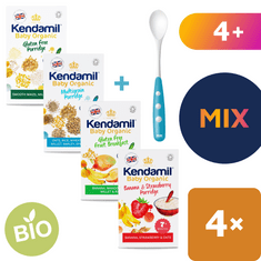 Kendamil Bio / organické variácie dojčenských kaší 4x150g