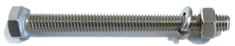 Mastrant  Screw set M6 for Guying Mast Clamp MA2: 40 mm