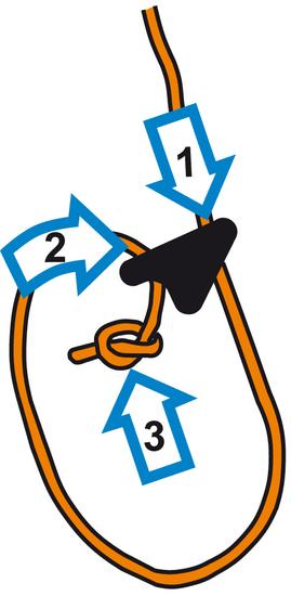 Mastrant  Line-Lok Rope Tensioner Black: 1-3 mm