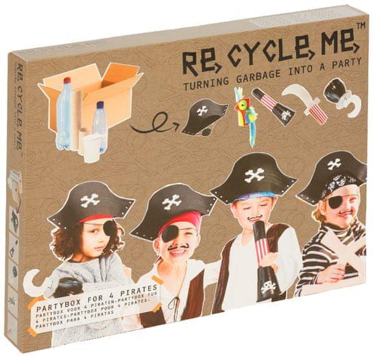Fun2 Give Re- cycle- me- Party box piráti- pro kluky