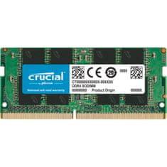 Crucial pomnilnik (RAM), 16 GB, DDR4, 2666 MT/s, CL19, SODIMM (CT16G4SFRA266)