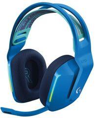 Logitech G733 Lightspeed brezžične slušalke, modre