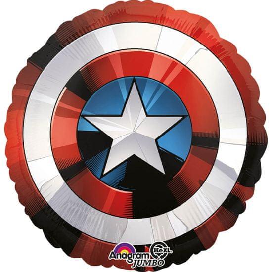 Amscan Fóliový balónek 71x71cm Avengers štít