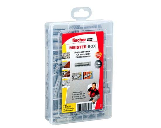 Fischer Sada hmoždinek SX MistrBox - 132ks