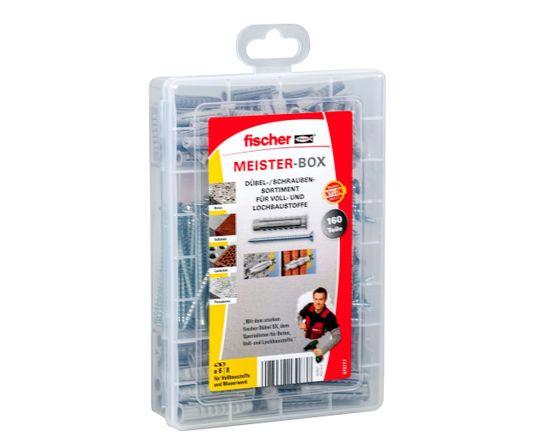 Fischer Sada hmoždinek SX s vruty MistrBox - 160ks